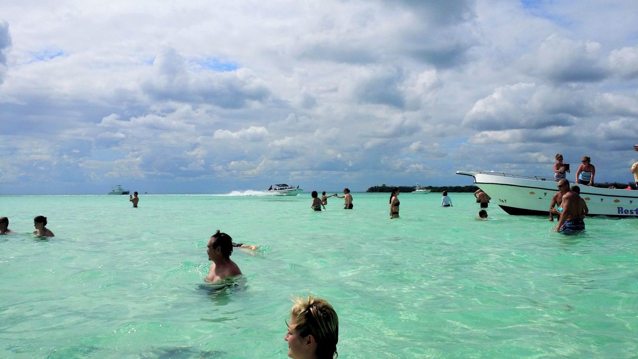 Sandbak vor Saona, Karibik