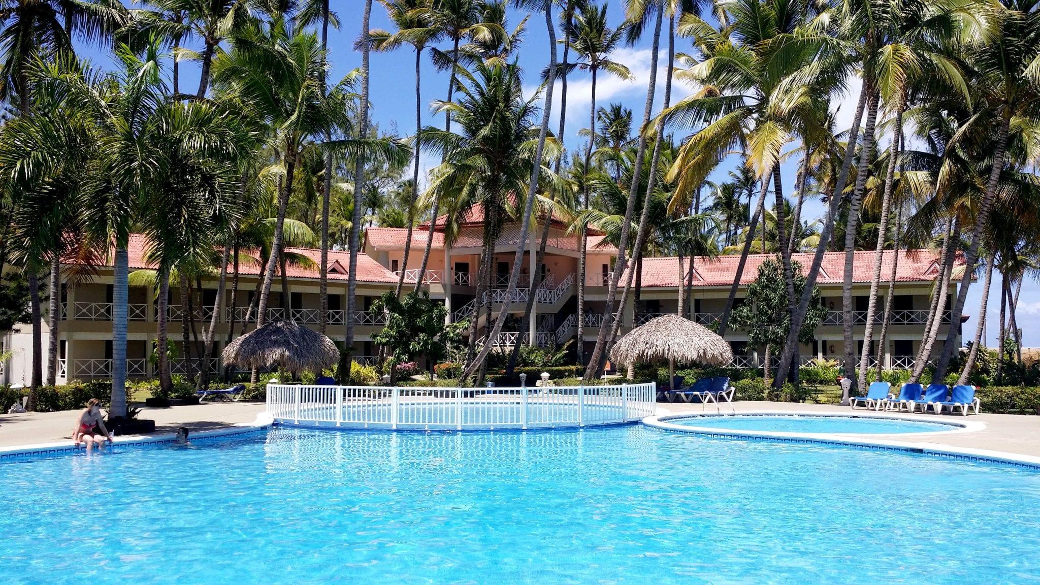 Zweiter großer Pool der Anlage Vista Sol Punta Cana