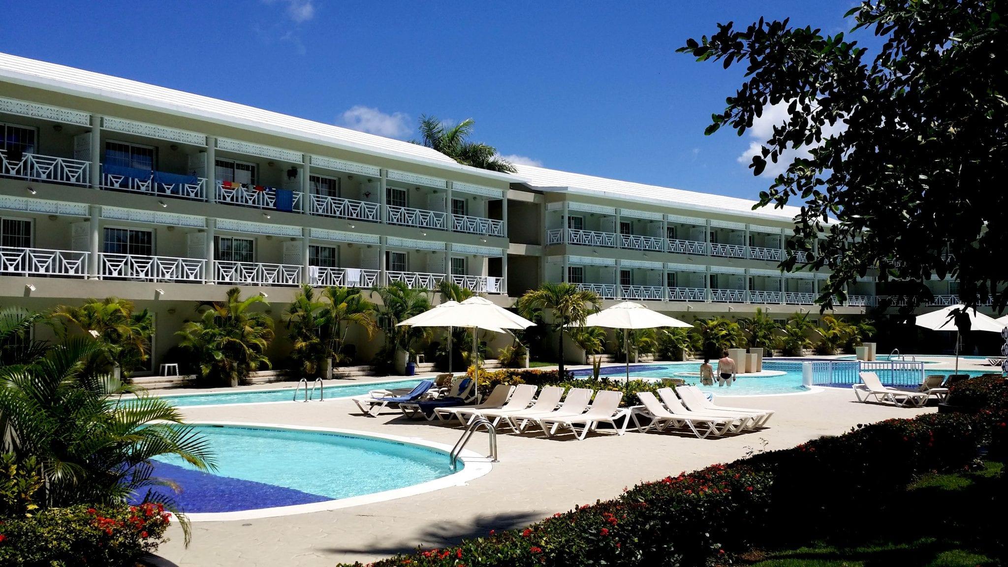Dritter großer Pool der Anlage Vista Sol Punta Cana