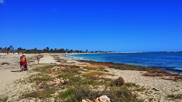 El Mouradi Djerba Menzel Weg zur Blauen Lagune